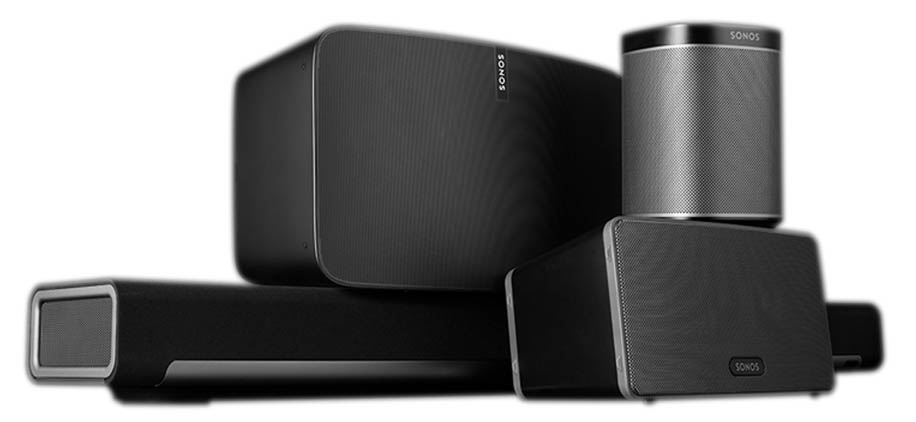 sonos installation set up speakers and playbar